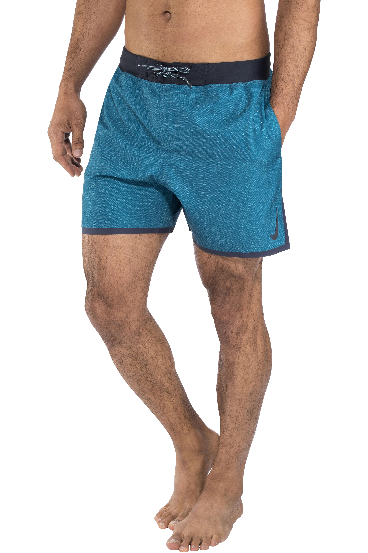 16a285a350f9d Nike Swim Linen Blade 5 Volley Shorts Herren green abyss | campz.de